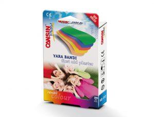 Renkli Yara Bandı
